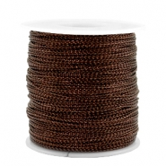 Trendy koord metal style wire 0.5mm Copper brown