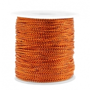 Trendy koord metal style wire 0.5mm Rosegold