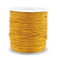 Trendy koord metal style wire 0.5mm Honey gold