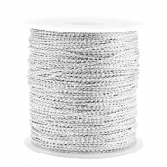 Trendy koord metal style wire 0.5mm Silver