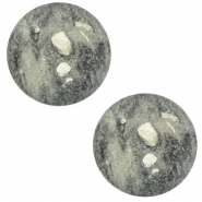 20 mm classic Polaris Elements cabochon Rockstar Greenish grey