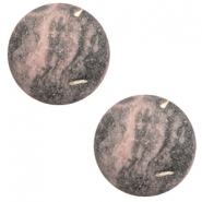 20 mm classic Polaris Elements cabochon Rockstar Powder pink-grey