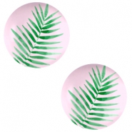 Cabochons basic 12mm Fern leaf-palace rose