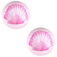 Cabochons basic 12mm Shell-pink