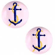 Cabochons basic 12mm Anchor-pink