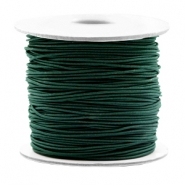 Gekleurd elastiek 0.8mm Dark green