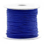 Gekleurd elastiek 0.8mm Cobalt blue