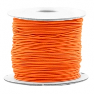 Gekleurd elastiek 0.8mm Vibrant orange