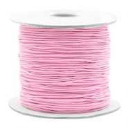 Gekleurd elastiek 0.8mm Light pink