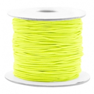 Gekleurd elastiek 0.8mm Fluor yellow