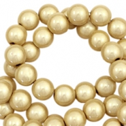 3D Miracle kralen 12mm Champagne gold beige