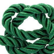 Trendy koord 6 mm weave Classic green