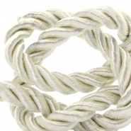 Trendy koord 6 mm weave Lightning white
