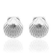 Musthave oorbellen studs shell Silver