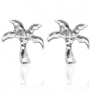 Musthave oorbellen studs palm tree Silver