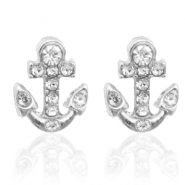 Musthave oorbellen studs anchor Silver