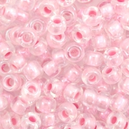 Miyuki 6/0 rocailles Pearlized effect pink 6-4607