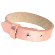 Armbanden Cuoio leer 15 mm voor 20 mm cabochon Holographic rosegold