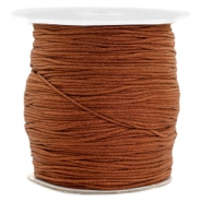 1.0mm Macramé draad Chocolate brown