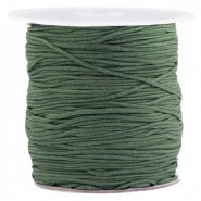 1.0mm Macramé draad Fairway green