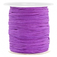 1.0mm Macramé draad Soft grape purple