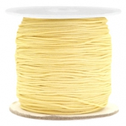 0.7mm Macramé draad Old linen yellow