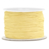 0.5mm Macramé draad Old linen yellow