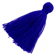 Basic kwastje 3cm Royal blue