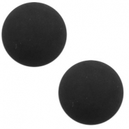 12 mm classic Polaris Elements cabochon matt Black