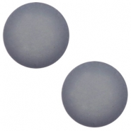 12 mm classic Polaris Elements cabochon matt Gallant grey