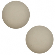 12 mm classic Polaris Elements cabochon matt Light silver shade