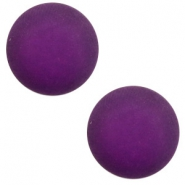 12 mm classic Polaris Elements cabochon matt Grape purple