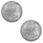 20 mm classic Polaris Elements cabochon Lively Light grey