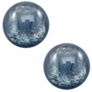 12 mm classic Polaris Elements cabochon Lively Quantum blue