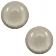 20 mm classic Polaris Elements cabochon soft tone shiny Warm grey