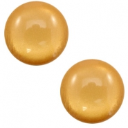 12 mm classic Polaris Elements cabochon soft tone shiny Camel brown