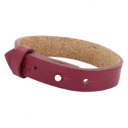 Armbanden Cuoio leer 15 mm voor 20 mm cabochon Tawny port red