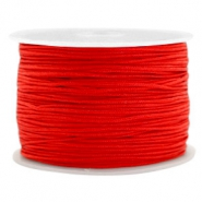 1.0mm Macramé draad Candy red