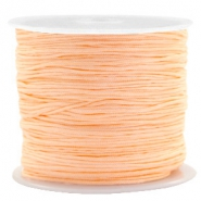 0.8mm Macramé draad Apricot orange
