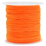 0.8mm Macramé draad Neon orange