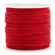 0.8mm Macramé draad Port red