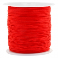0.5mm Macramé draad Candy red