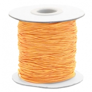 Gekleurd elastiek 0.8mm Sunflower orange