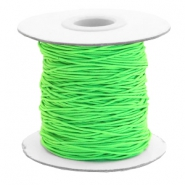 Gekleurd elastiek 0.8mm Chartreuse green