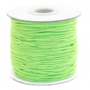Gekleurd elastiek 1mm Chartreuse green