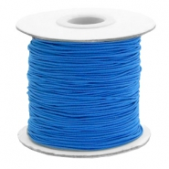 Gekleurd elastiek 1mm Princess blue