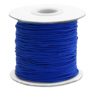 Gekleurd elastiek 1mm Cobalt blue