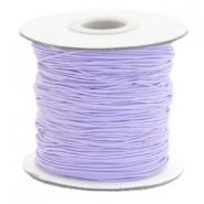 Gekleurd elastiek 1mm Lavender purple
