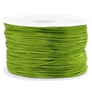 Macramé draad satijn 1.5mm Light olive green