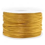 Macramé draad satijn 1.5mm Golden brown